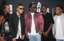 P. Diddy & Quincy Brown