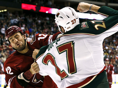 Paul Bissonnette, Mike Rupp