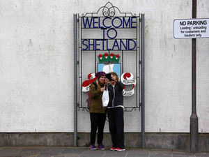 Remote, oil-rich Shetland elbows way into Scotland's independence vote