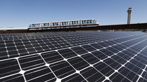 Newark airport debuts 1st of 4 solar installations
