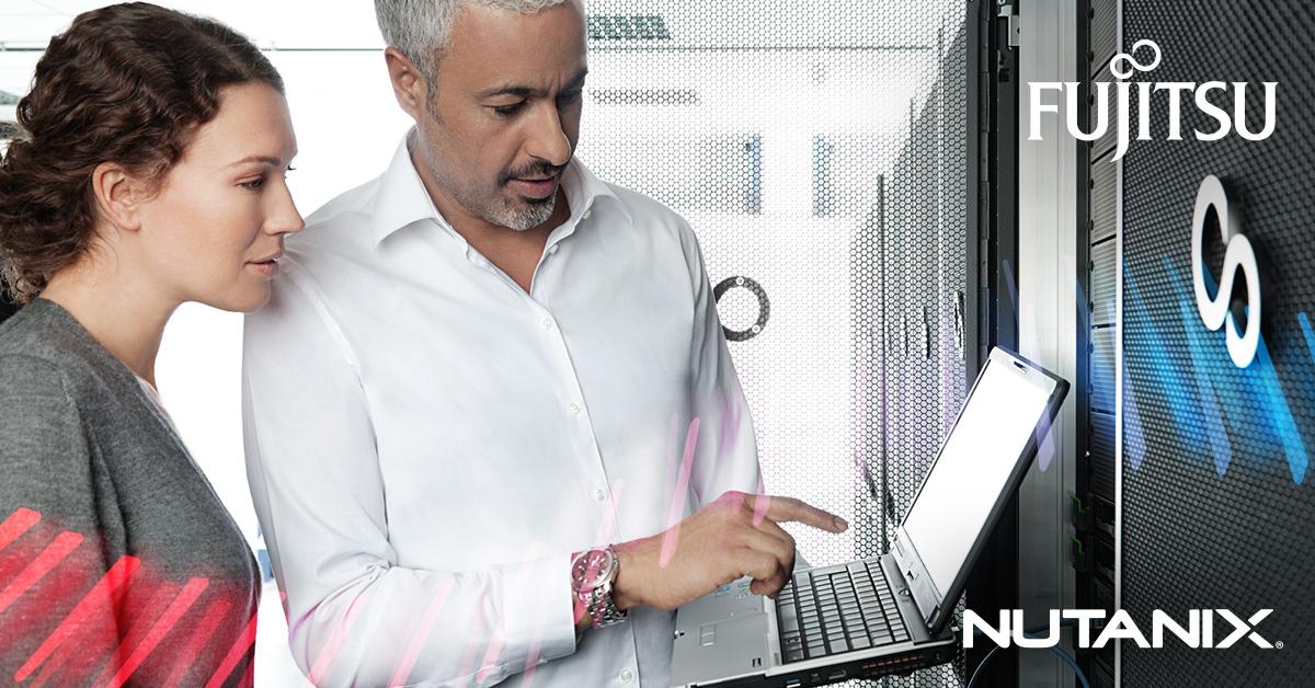 Main visual : Cost optimization and topline gains with Fujitsu-Nutanix HCI on Intel SELECT solution