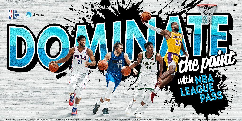 U-Verse NBA LEAGUE PASS Schedule 2019-2020