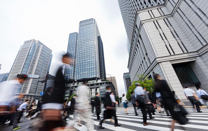 メインビジュアル : 異業種データ活用で、東京のビジネスエリアが生まれ変わる【前編】