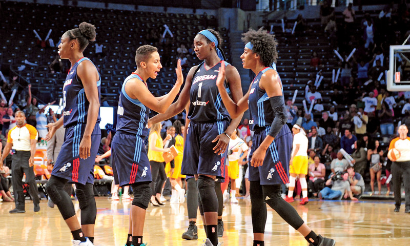 Head to Georgia Tech's McCamish Pavilion to see the Atlanta Dream in action.