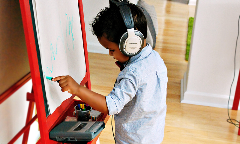 Woodruff Arts Center hosts a yearly event to engage little ones. It's called Toddler Takeover.