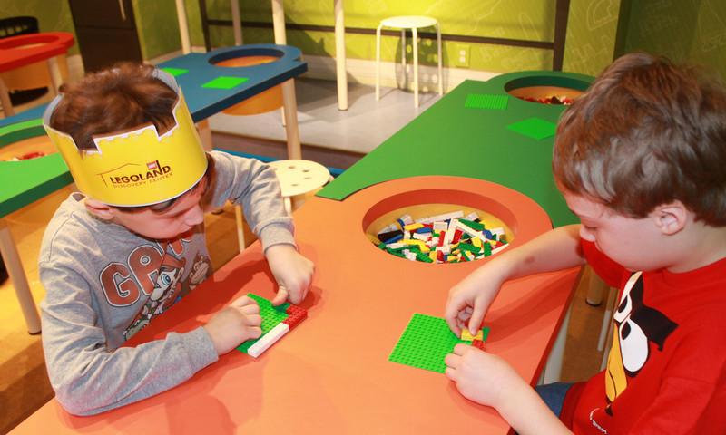 The LEGOLAND Discovery Center Atlanta Toy Drive runs through Dec. 28
