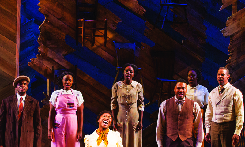 "See Celie and Shug, again, when ""The Color Purple"" comes to the Fox. (Matthew Murphy photo)"