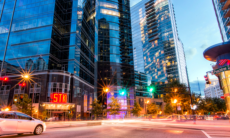 Ready for a guide to Atlanta Midtown District? Let's begin. (📷 Gene Phillips, AtlantaPhotos.com)