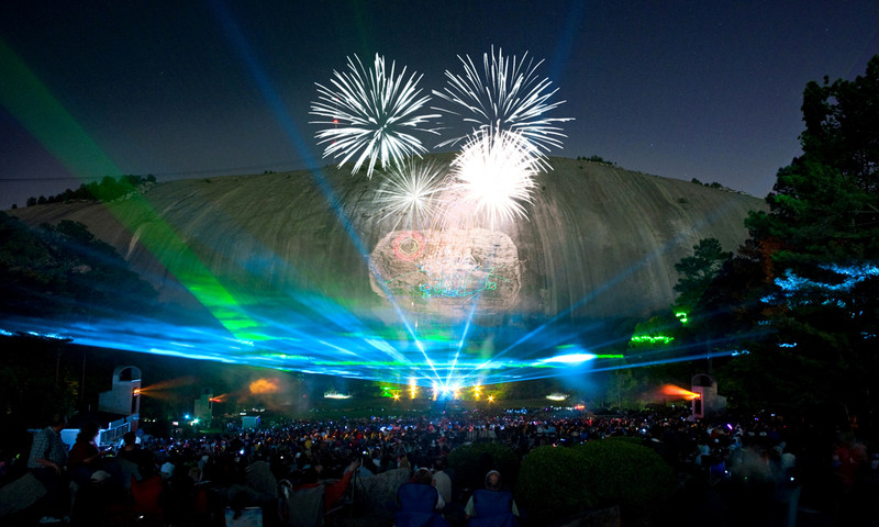 Stone Mountain Park pulls out all the stops for Labor Day Weekend.
