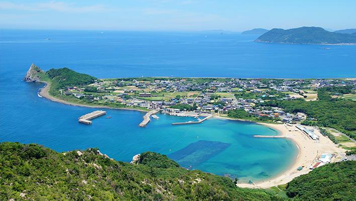 メインビジュアル : 福岡で「移住したい町」第1位の糸島市の移住相談を、「AIマッチング」で支援