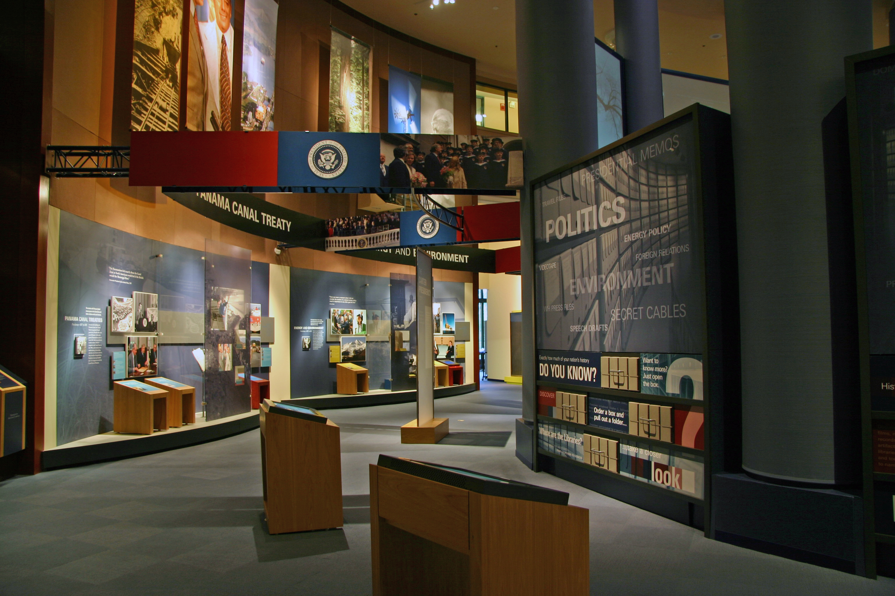 Atlanta-Jimmy-Carter-Library-and-Museum-Presidential-Issues