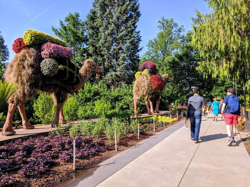 Atlanta Botanical Garden Imaginary Worlds