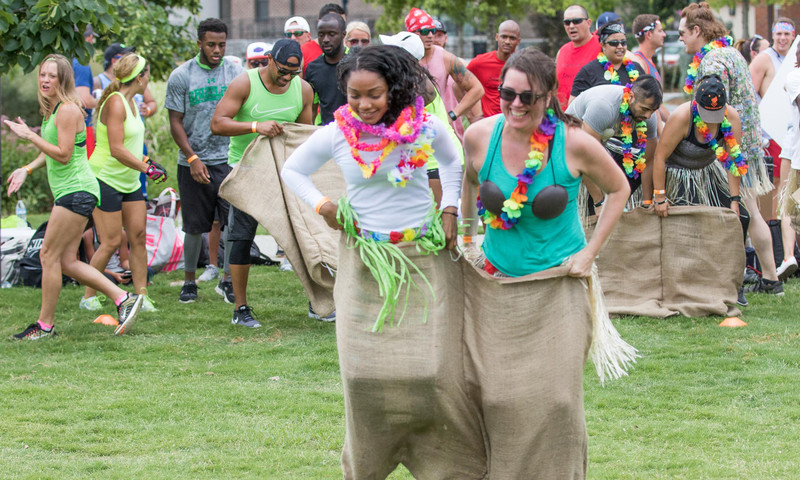 It's recess for adults-and all for a good cause-at Atlanta Field Day.