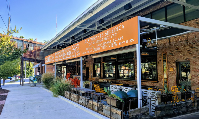 Superica is one of several Atlanta restaurants with a welcoming patio.