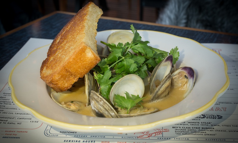 Clams from BeetleCat in Inman Park will satisfy.