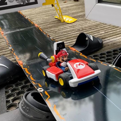 What Parents Need To Know About Mario Kart Live: Home Circuit