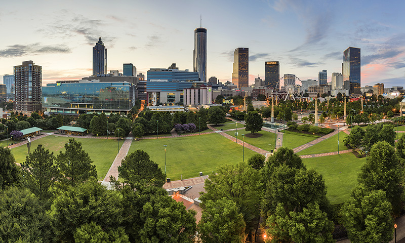 Atlanta Downtown Sunrise