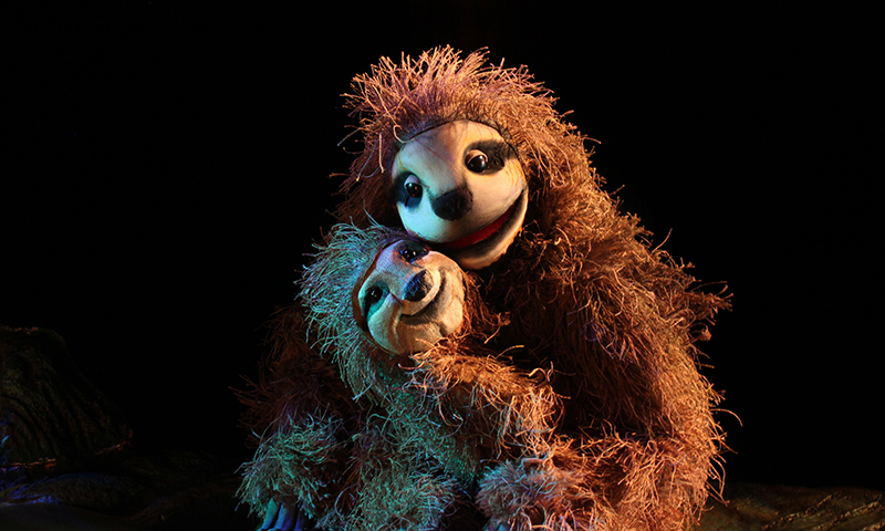 Travel to the Amazonian Rainforest at the Center for Puppetry Arts.