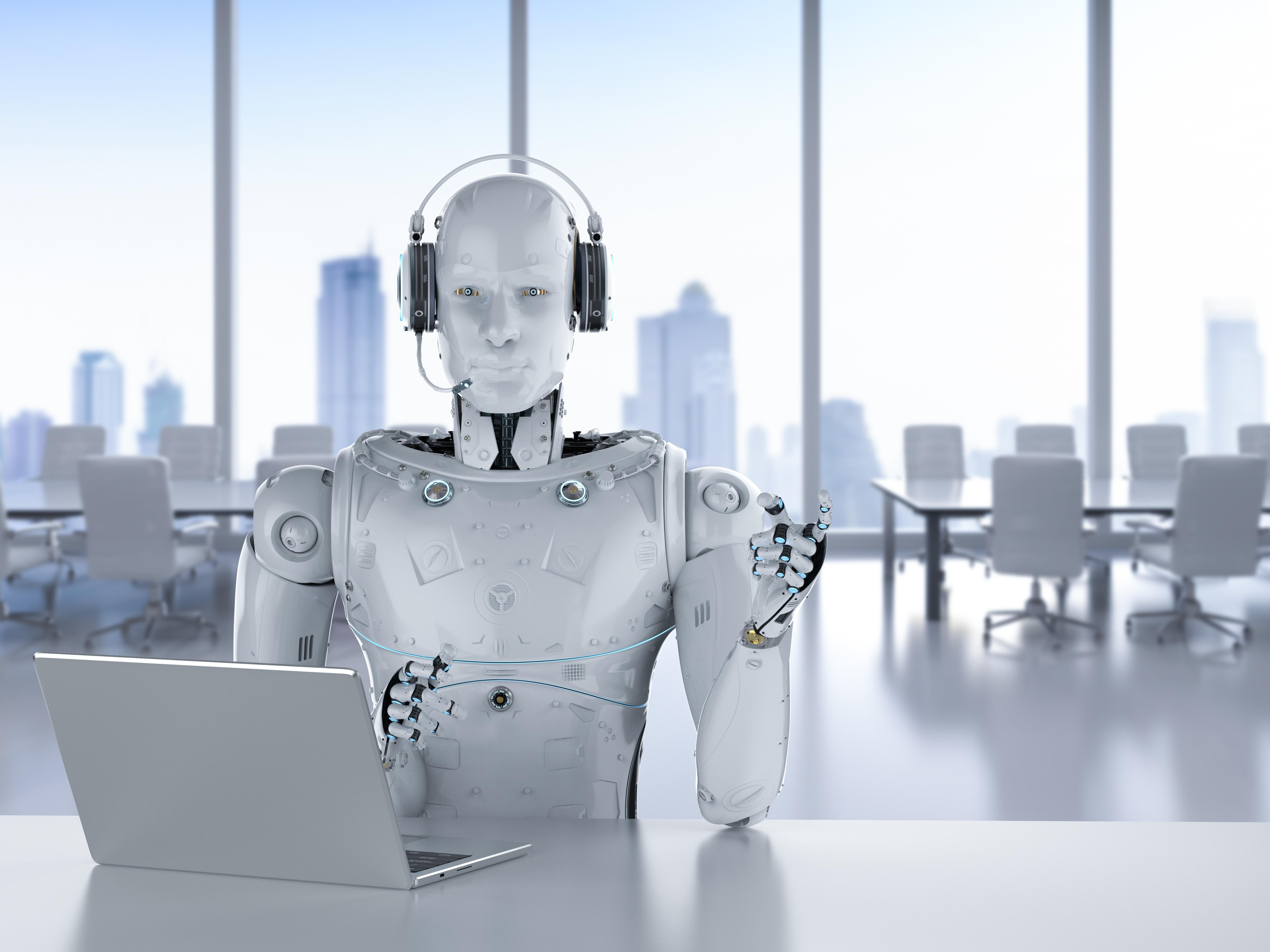 メインビジュアル : AIやロボットが公共サービスで働く未来は実現できるのか