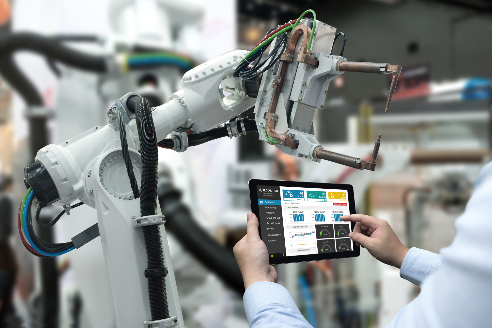 Main visual : Data precision gives smart manufacturers the edge