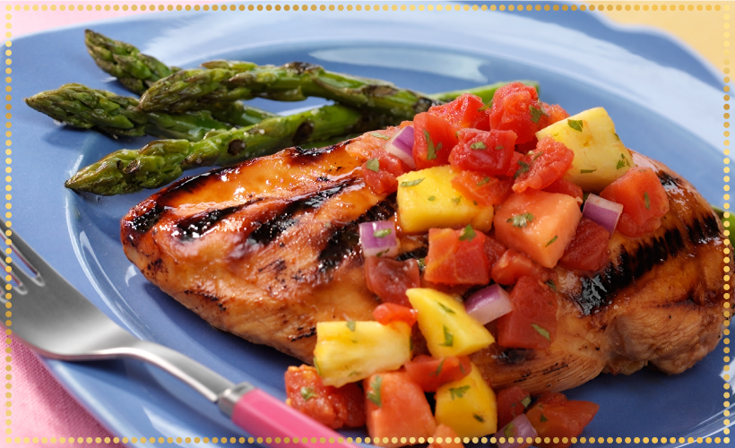 veggies-and-grilled-chicken-recipe