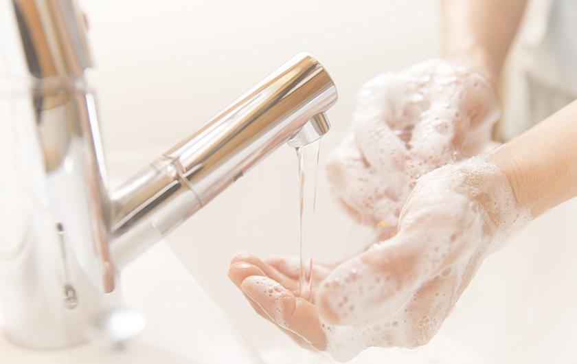 メインビジュアル : 「手、ちゃんと洗えてる?」感染症や食中毒の拡大防止にAIが貢献