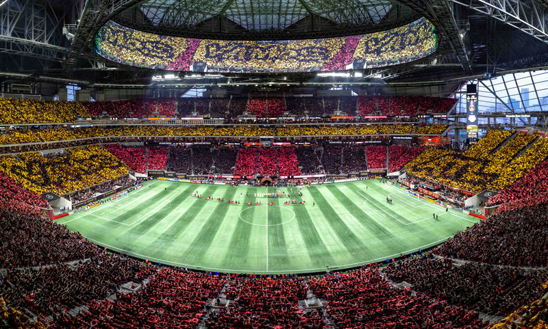 Five Stripes match days are like no other, from tailgating to TIFOS.
