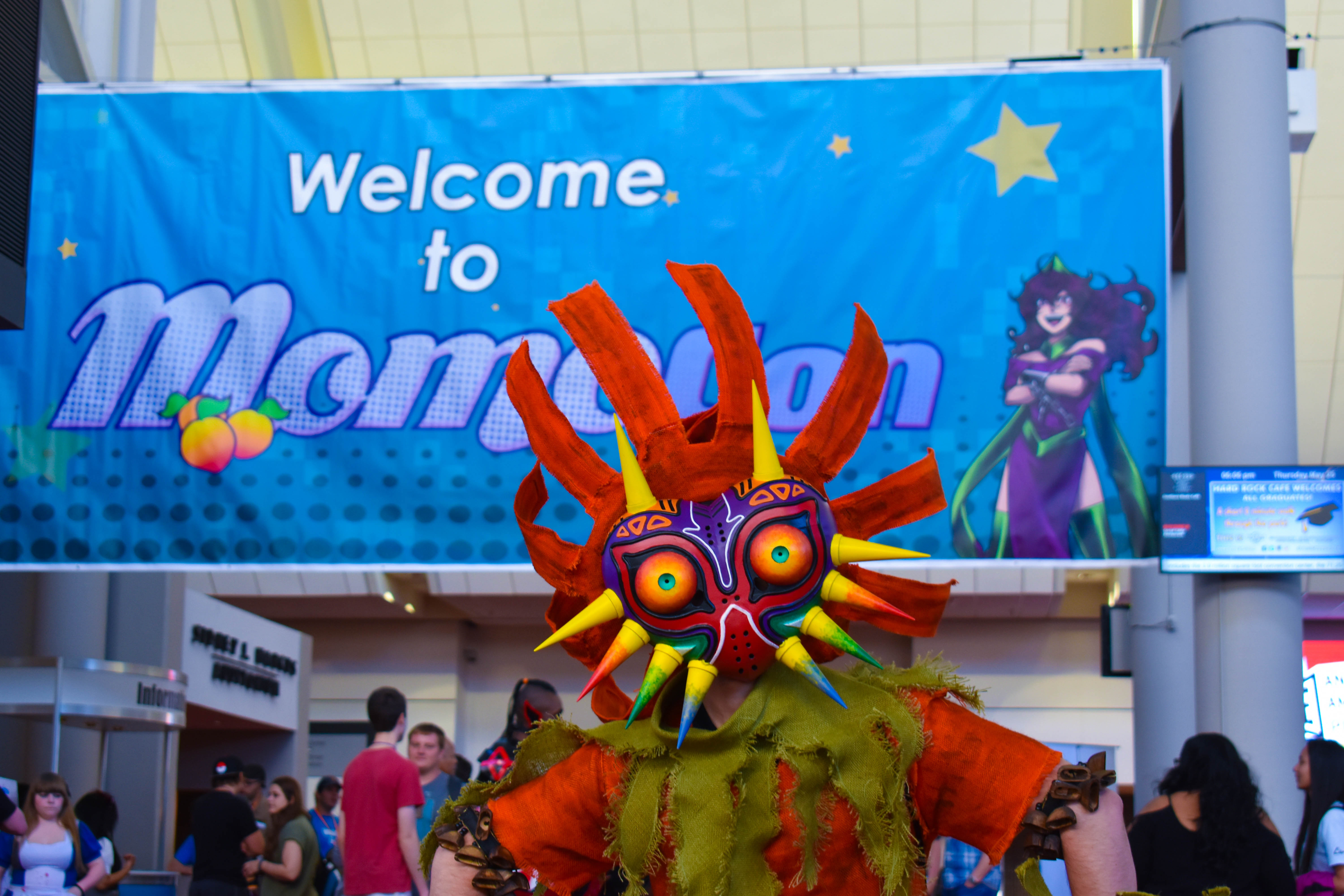 Welcome to MomoCon.