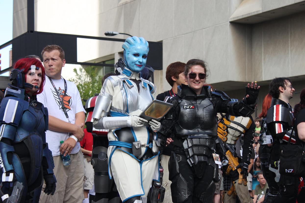 Dragon Con Parade - Mass Effect