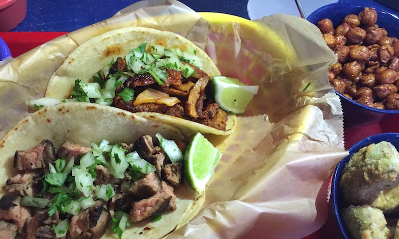 Filling tacos and unique sides await at Rreal Tacos in Midtown.