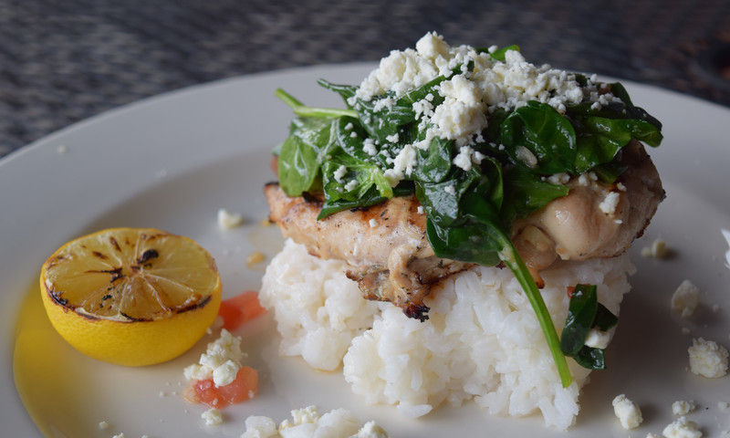 The Hudson Grille serves fresh food and even has a three-course quick lunch selection for $10.