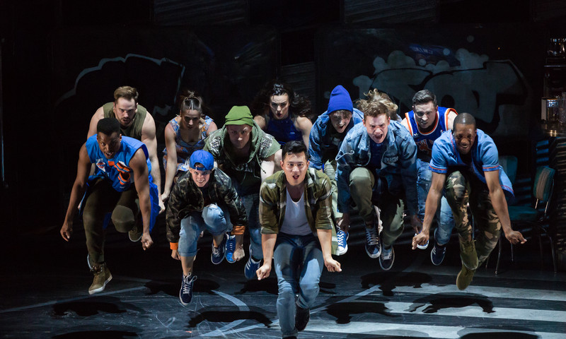"The Sharks and the Jets bring ""West Side Story"" to the stage with the Atlanta Opera. (Lynn Lane)"