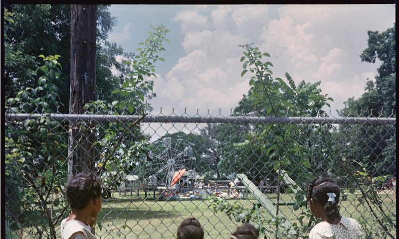 """Outside Looking In, Mobile, Alabama, 1956"" is among photos in a new High Exhibit. (Gordon Parks)"