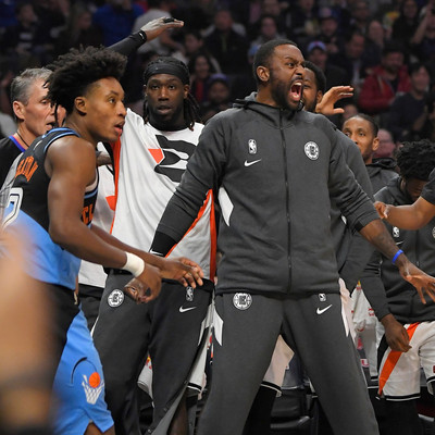 Say Cheese: Bench energy is real, and loud, at NBA restart
