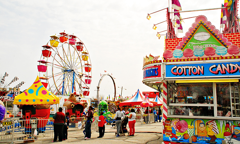 The Atlanta Fair is an annual tradition. (Joleen Pete Photography)