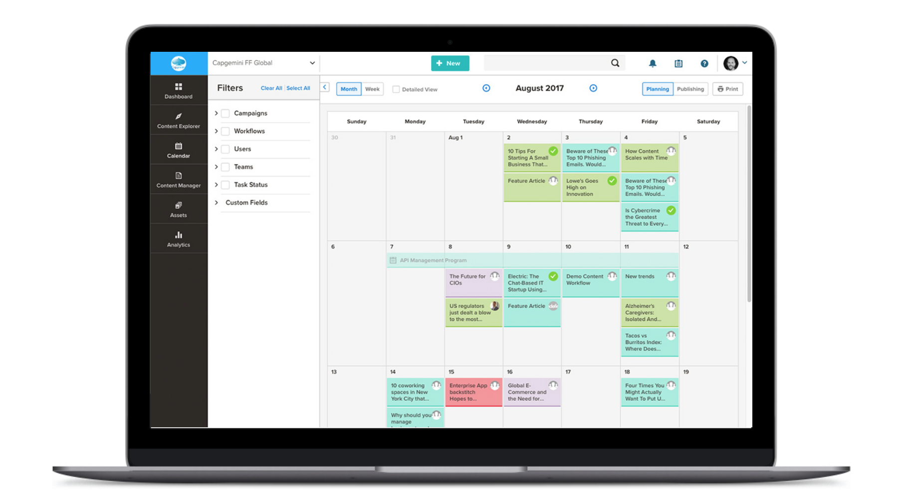 How To Create An Editorial Calendar For Content Marketing The