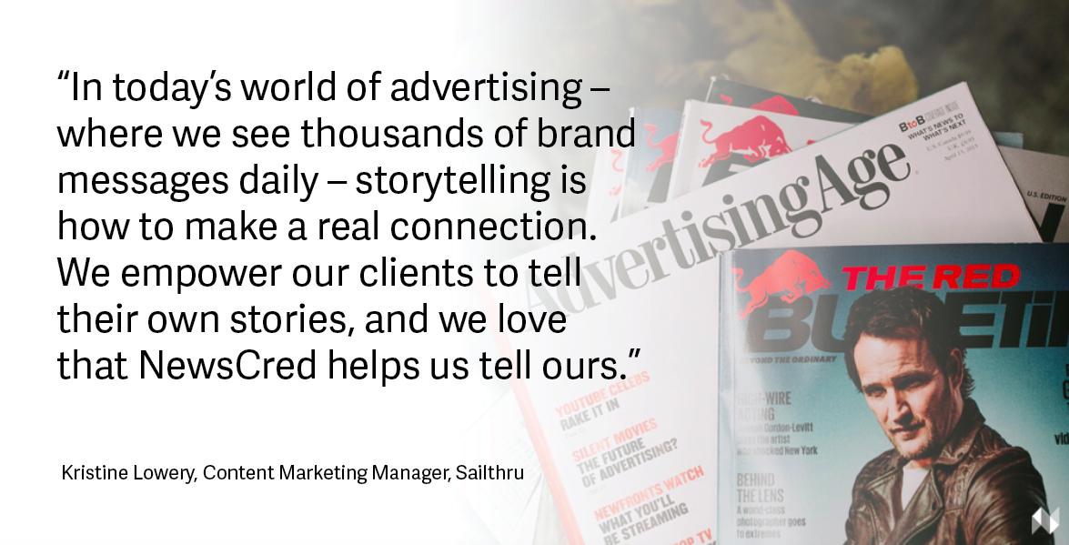 Sailthru content marketing