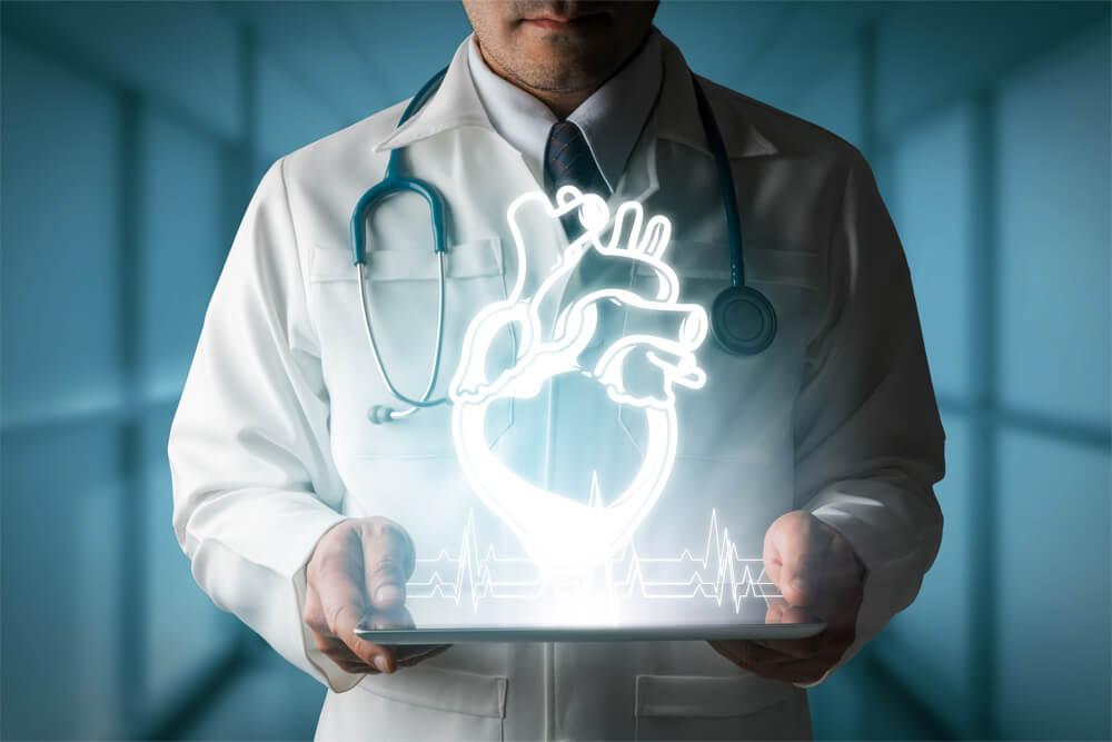 メインビジュアル : 医師・患者が容易に理解できる情報を提供。心臓の動きをVRで視覚的に把握する「心臓シミュレータ」