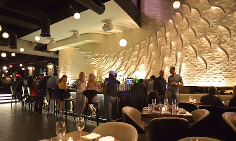 Swanky surroundings and killer steaks await at STK.