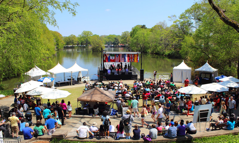 Atlanta's Dogwood Festival starts the spring with arts, crafts and food. (Jay Jordan, AtlantaPhotos.com)