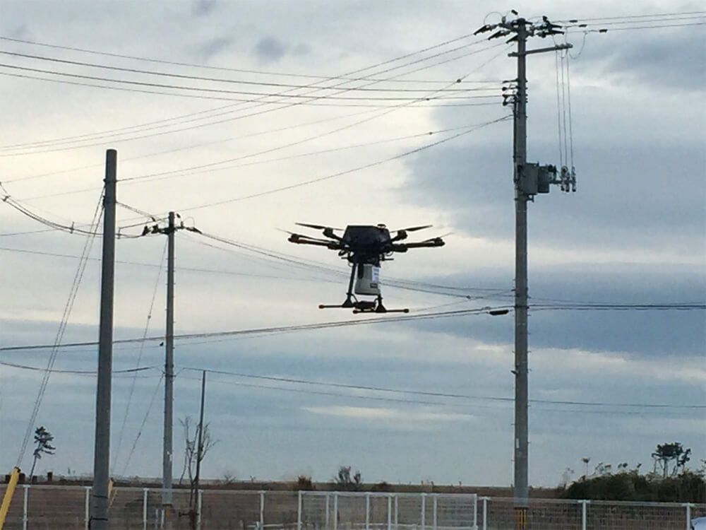 Main visual : Mobilizing Drones to Guide Tsunami Evacuations & Monitor Disasters in Real-Time