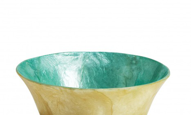 A handcrafted bowl from the Philippines, from Ten Thousand Villages, will be a special gift.