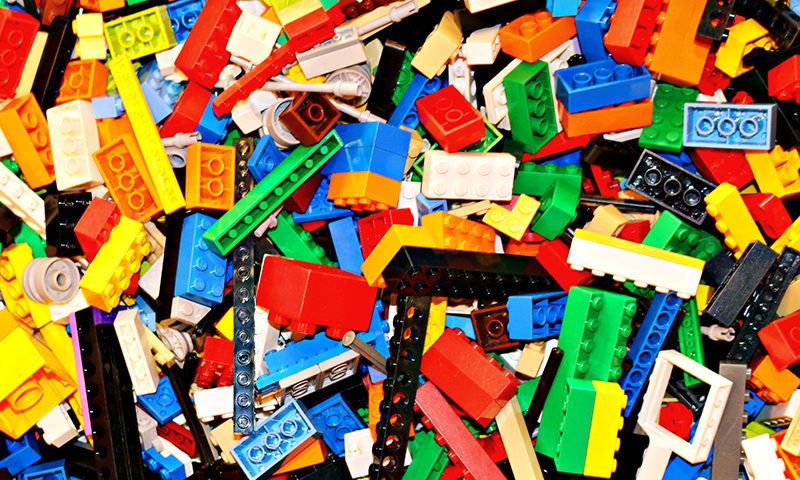 Build your next masterpiece at LEGOLAND Discovery Center. (Benjamin A. Pete)