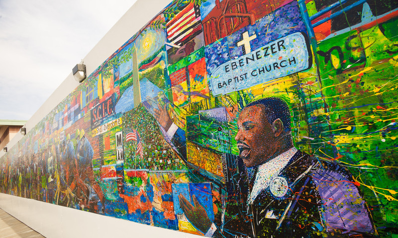 See the past's progress at the core of Atlanta's civil rights history. (Jenny Girtman, AtlantaPhotos.com)