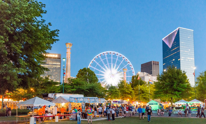 So much to do, so little time. Find out what to visit and where to eat during your fall Atlanta trip. (Gene Phillips, AtlantaPhotos.com)