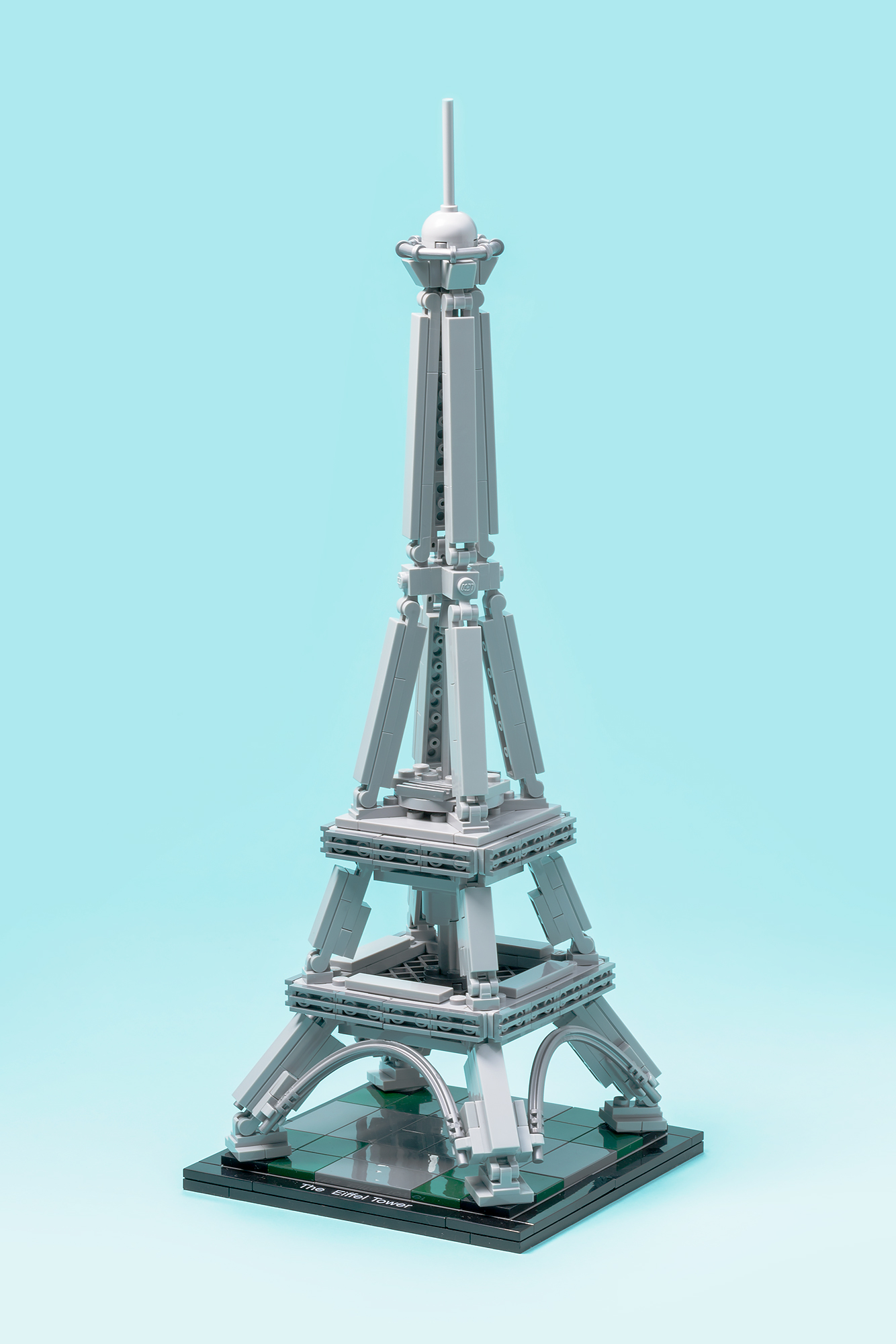 Iconic structures deconstructed the eiffel tower blueprint towerherog malvernweather Image collections
