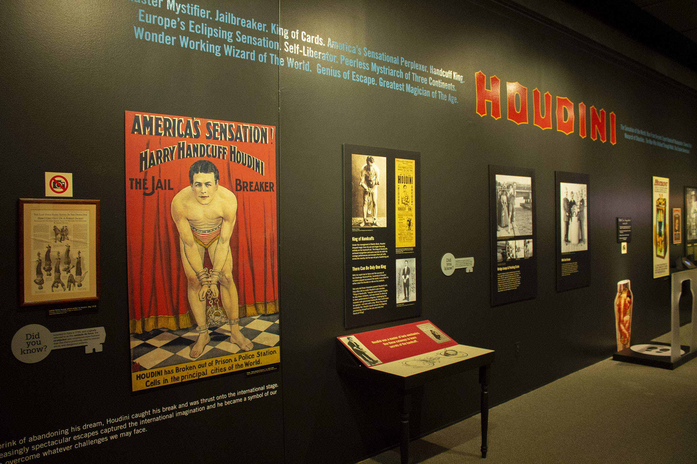 Summer Exhibit: The Life and Legacy of Harry Houdini at William Breman Jewish Heritage Museum in Atlanta