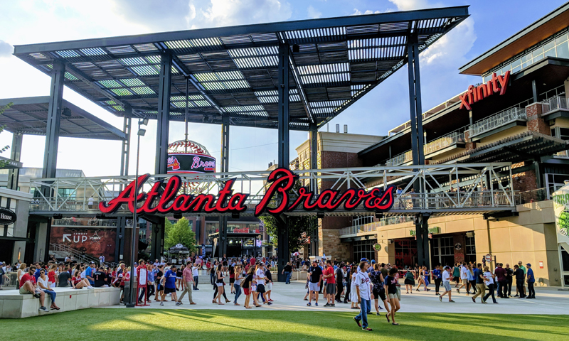 Check out Atlanta's new state-of-the-art ballpark Suntrust Park