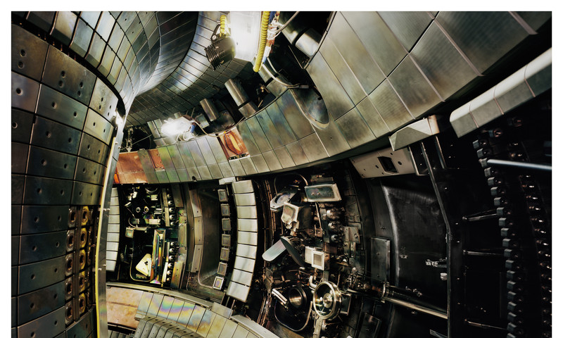 Thomas Struth's Tokamak Asdex Upgrade Interior 2 takes us to a place we could never go on our own.