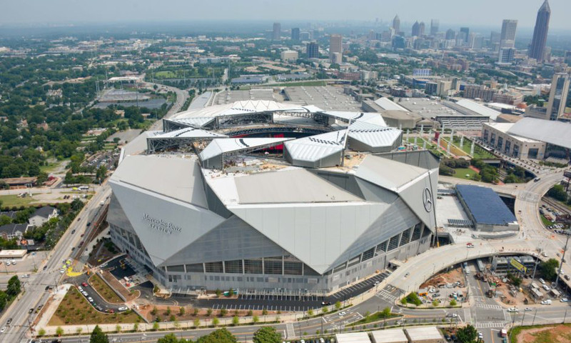 Mercedes Benz Arena Atlanta >> The Top Bars And Restaurants Near Mercedes Benz Stadium For Pre Game